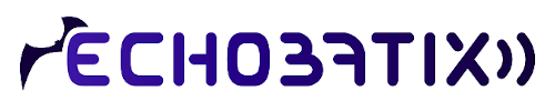 Echobatix logo, which has the name 'Echobatix' between two graphics. 